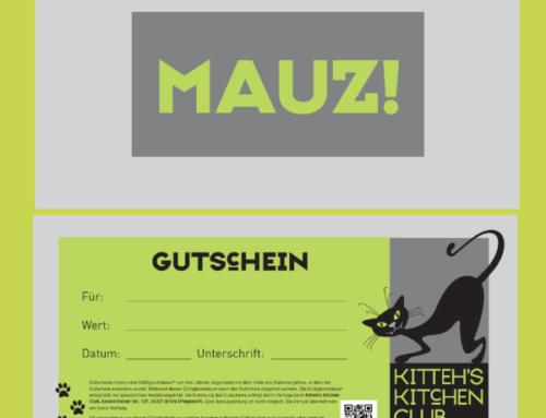 DIE GESCHENKIDEE – KITTEH'S KITCHEN CLUB – GUTSCHEIN – individuell und garantiert schmackhaft!