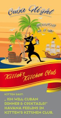 CUBA NIGHT RELOADED @ Kitteh´s Kitchen Club | Brühl | Nordrhein-Westfalen | Deutschland