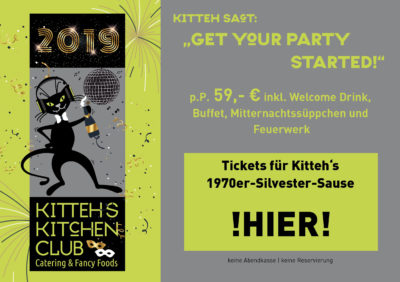 Silvester @ Kitteh´s Kitchen Club - GET YOUR PARTY STARTED! @ Kitteh´s Kitchen Club | Brühl | Nordrhein-Westfalen | Deutschland