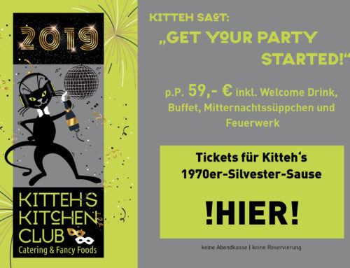 "Kitteh sagt: ""Get your Party started!"" – Silvester @ Kitteh´s Kitchen Club"
